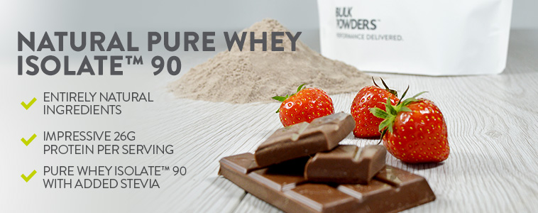 Natural Pure Whey Isolate