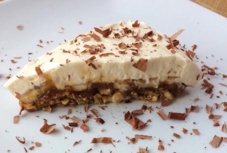 High Protein Sugar-Free Banoffee Pie Recipe