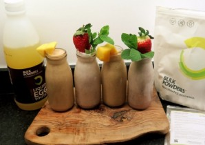 Mangananaberry Breakfast Smoothie