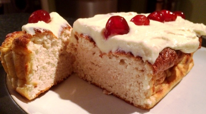 Cherry Bakewell Loaf Recipe
