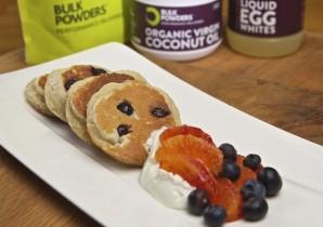 Almond & Blueberry Pancakes
