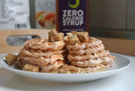 Strawberry Protein Waffles Recipe