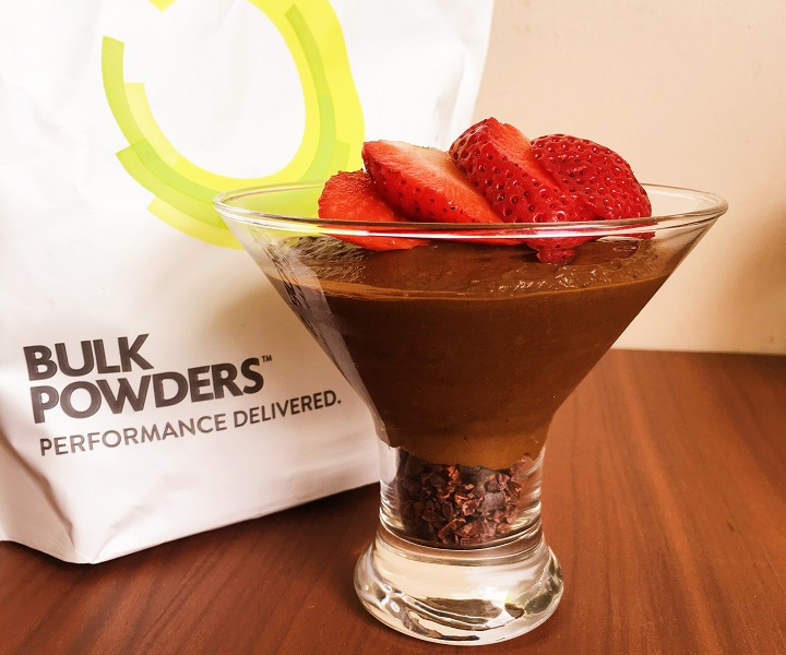 Chocolate Caramel High Protein Mousse