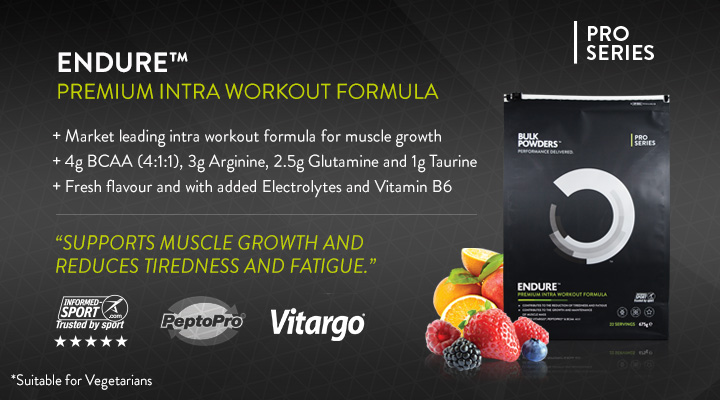 ENDURE intra workout formula