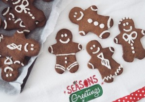 Healthy Gingerbread men recipe