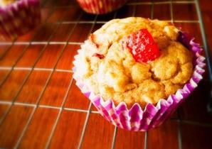 Quinoa Berry Banana Muffins