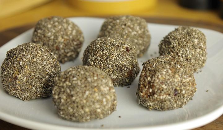 Vegan Fruit, Nut & Seed Balls