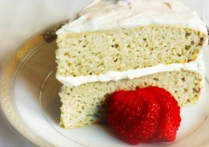 protein coconut cake