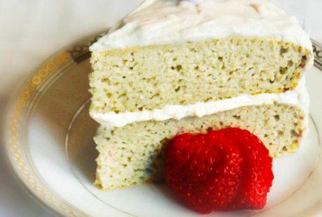 Coconut Protein Cake Recipe