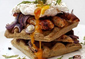harissa waffles