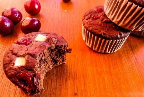 White Chocolate Chip Cranberry Cupcakes Recipe