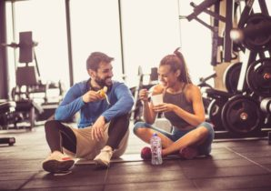 how much to eat post-workout in the gym