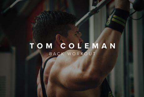 [VIDEO] Tom Coleman's Back Workout