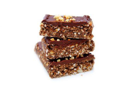 Vegan Protein Chocolate Oat Bar Recipe