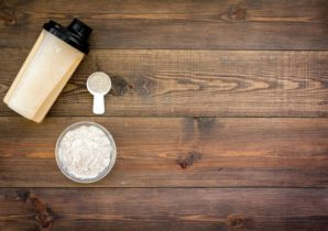whey or casein protein for training and nutrition