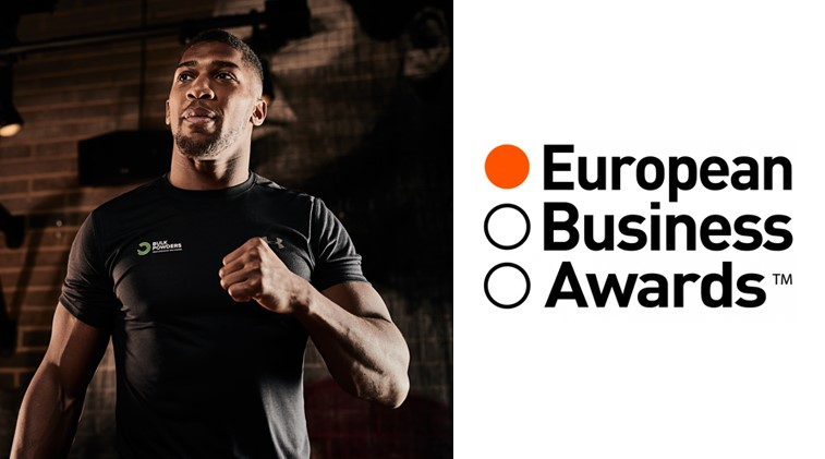 "BULK POWDERS® Selected In 2018 European Business Awards ""Ones To Watch"" List"