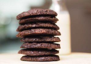 Double Chocolate Vegan Cookies