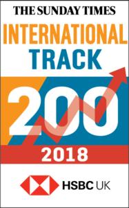 2018 International Track 200 logo