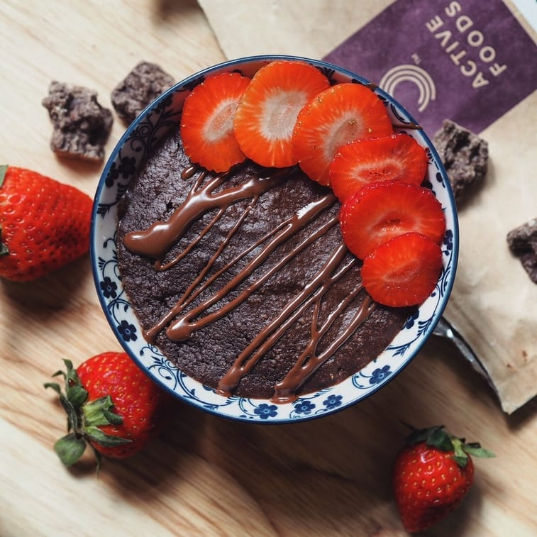 Vegan Brownie Cake