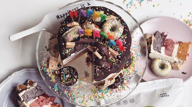 Birthday Drip Cake Recipe