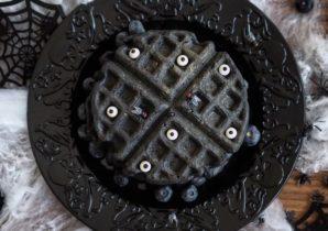 Halloween Waffle Recipe