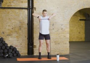 resistance band home workout with alex cleland