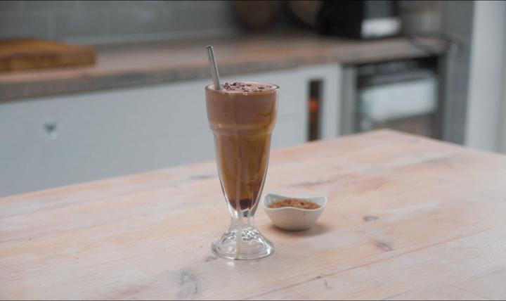 chocolate banana milkshake recipe