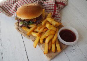 national burger day bean burger recipe