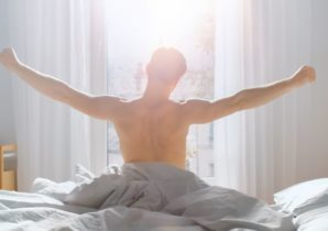 young-man-waking-up